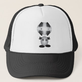 MICRO PILLS ROBOT TRUCKER HAT
