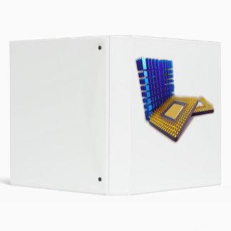 micro processor 3 ring binder