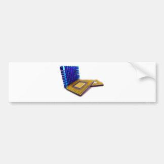micro processor bumper sticker