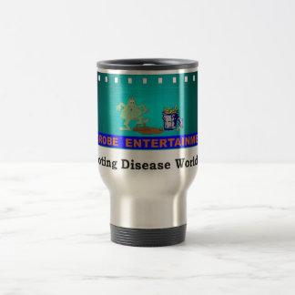 Microbe Entertainment...Promoting Disease Globally 15 Oz Stainless Steel Travel Mug