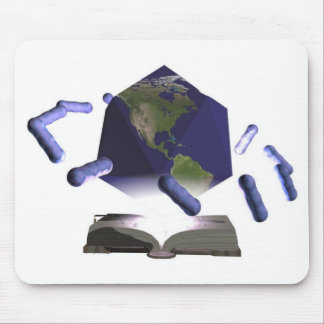 Microbe World of Knowledge Mouse Pad
