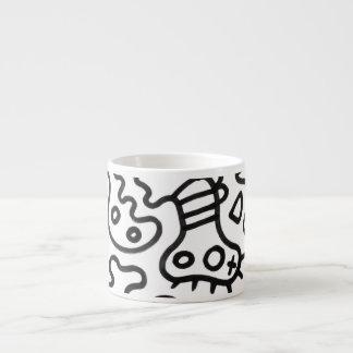 Microbes by ilya konyukhov (c) 6 oz ceramic espresso cup