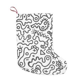 Microbes by ilya konyukhov (c) small christmas stocking