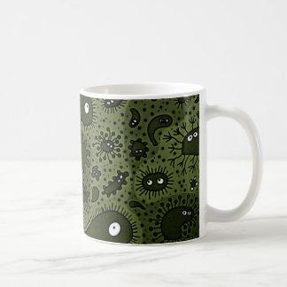 Microbes Classic White Coffee Mug