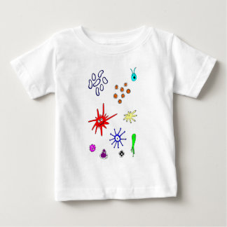microbes infant t-shirt