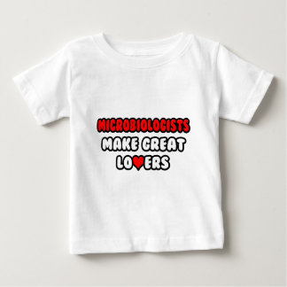 Microbiologists Make Great Lovers Baby T-Shirt