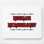Microbiólogo renegado alfombrillas de ratones