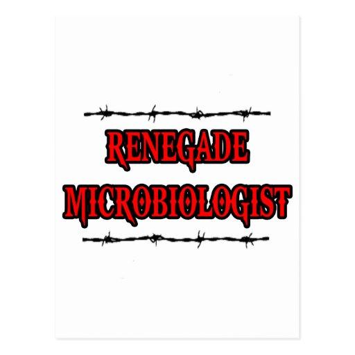 Microbiólogo renegado postal