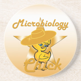 Microbiology Chick #10 Drink Coaster