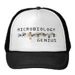Microbiology Genius Trucker Hats