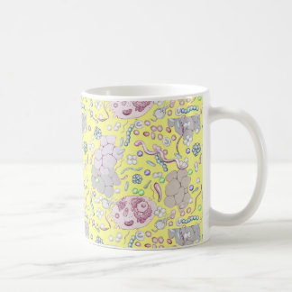 Microbiology In Yellow Coffee Mug