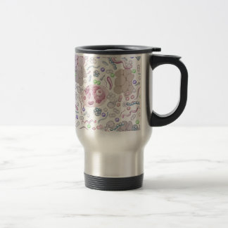 Microbiology Pattern Travel Mug
