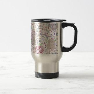 Microbiology Pattern Travel Mug