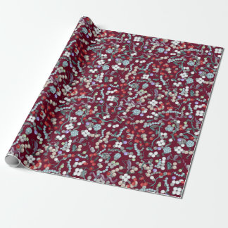 Microbiology Pattern Wrapping Paper