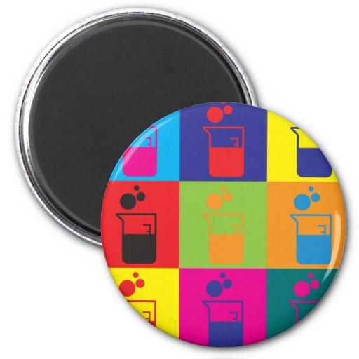 Microbiology Pop Art Magnet