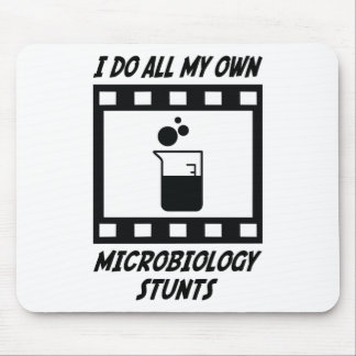 Microbiology Stunts Mouse Pad