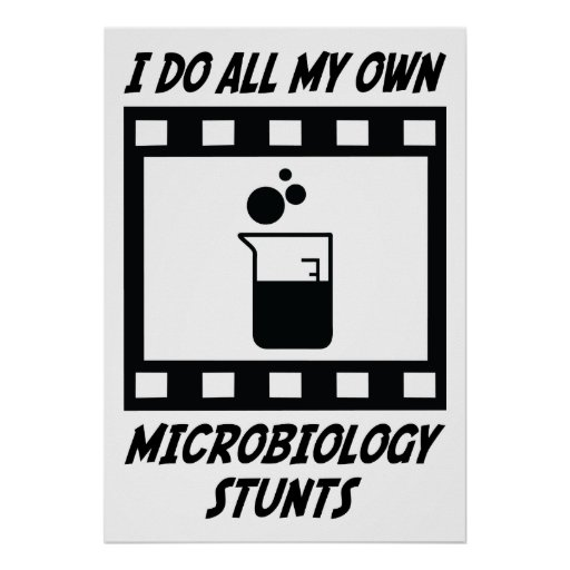 Microbiology Stunts Poster