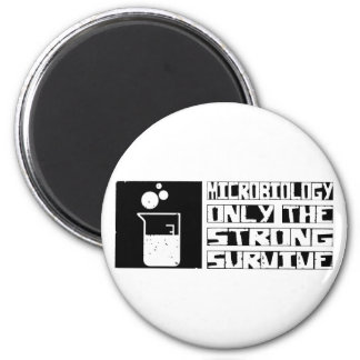 Microbiology Survive 2 Inch Round Magnet