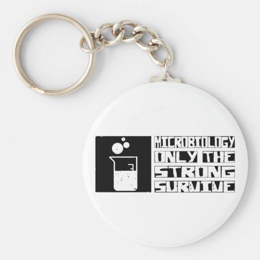 Microbiology Survive Keychain