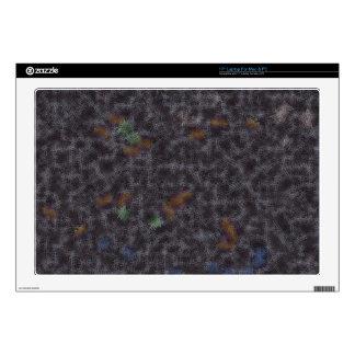 Microbios móviles calcomanía para 43,2cm portátil