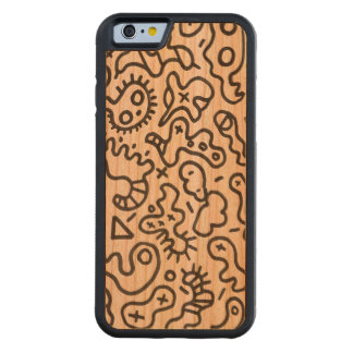 Microbios por el konyukhov del ilya (c) funda de iPhone 6 bumper cerezo