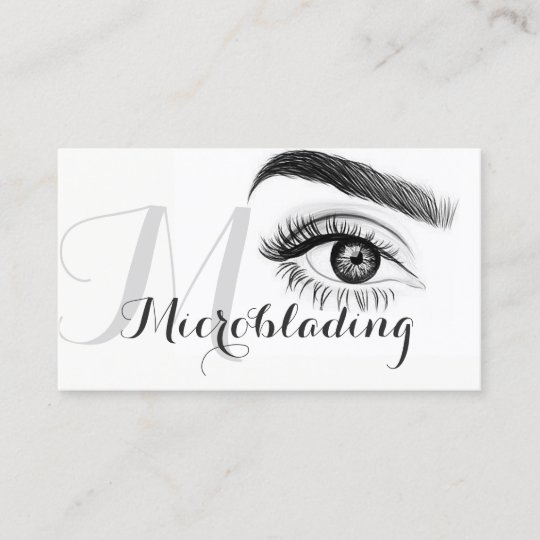 Microblading , Eyebrows, Tattoo, Permanent Makeup Business Card ...