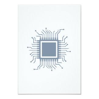Microchip chip computer card