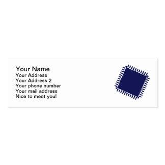 Microchip chip computer mini business card