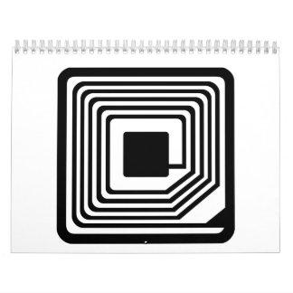 Microchip del RFID Calendario