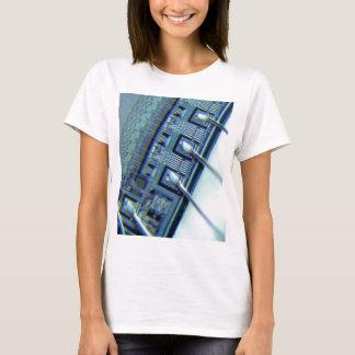 Microchip under microscope T-Shirt