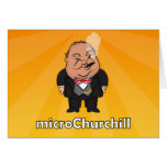 microChurchill Smoking - Blank yellow card