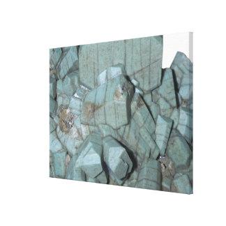 Microcline crystals, Pike's Peak, Colorado, USA Canvas Print