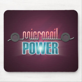 Microcoil Power Mouse Pad