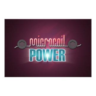Microcoil Power Photo Print