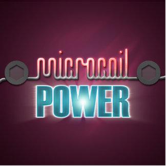 Microcoil Power Photo Sculptures
