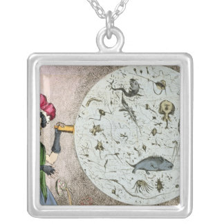 Microcosm dedicated to the London Water Square Pendant Necklace