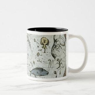 Microcosm dedicated to the London Water Two-Tone Coffee Mug