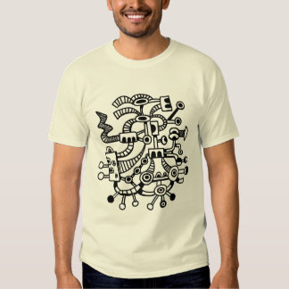 Microcosm Macrocosm 02 - Black T-Shirt