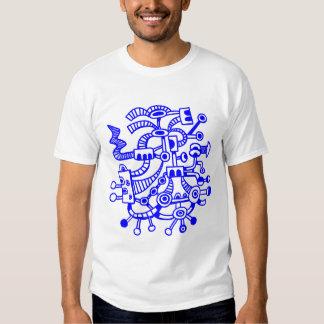 Microcosm Macrocosm 02 - Blue T-Shirt
