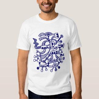Microcosm Macrocosm 02 - Deep Navy Blue T-Shirt