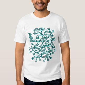 Microcosm Macrocosm 02 - Moss Green T-Shirt