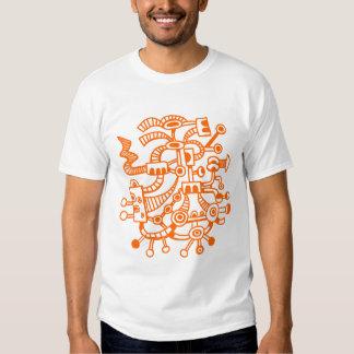 Microcosm Macrocosm 02 - Orange T-Shirt