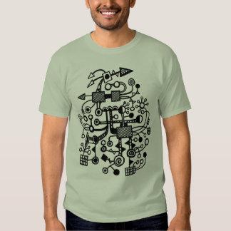Microcosm Macrocosm - Black T-Shirt