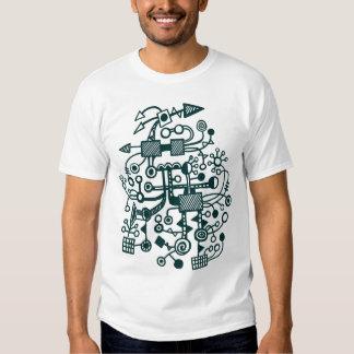 Microcosm Macrocosm - Dark Green T-Shirt