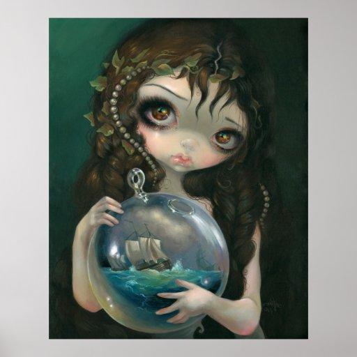 Microcosm: Seascape ART PRINT Pop Surrealism