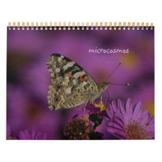 microcosmos calendario de pared