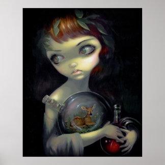 Microcosmos:  Lowbrow gótico de la alquimia de la  Poster
