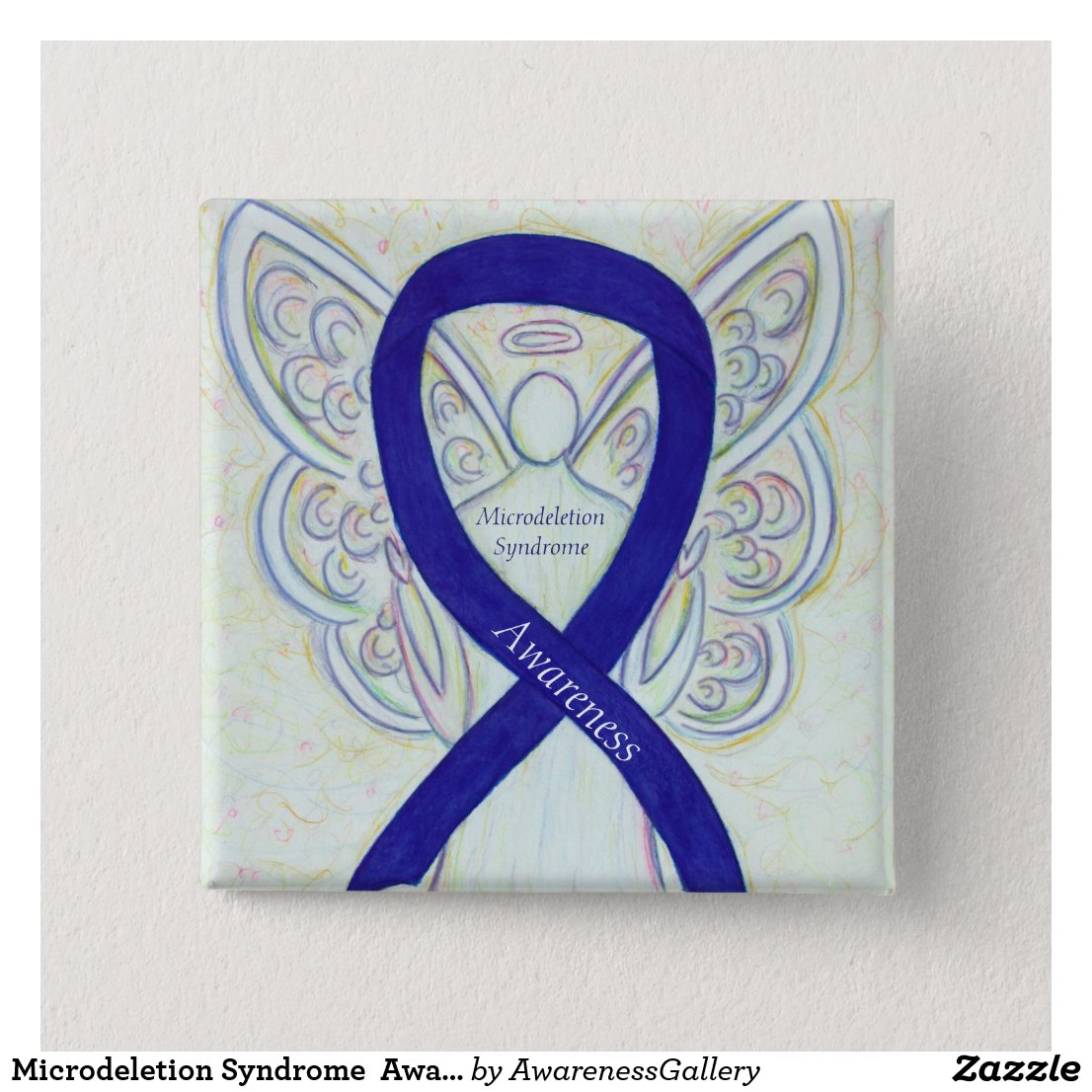 Microdeletion Syndrome Awareness Ribbon Pin