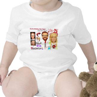 MicroDwarf.com Wedding Cake Toppers Baby Bodysuit
