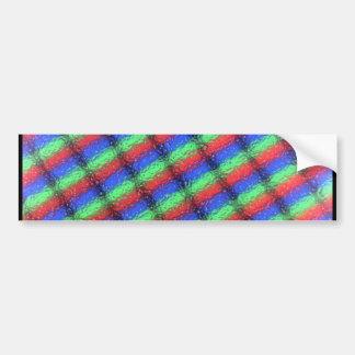 Microestructura del LCD Pegatina De Parachoque